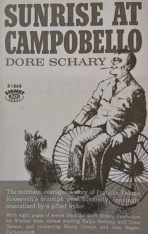 Dore Schary, <em>Izlazak sunca na Campobellu</em> / <em>Sunrise At Campobello</em>, Signet Book, New York, 1960.